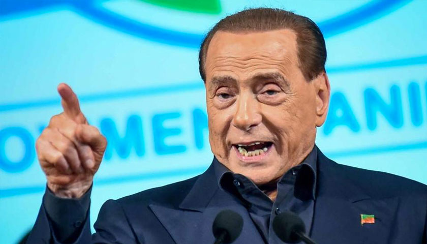 Berlusconi, da Salvini frasi inaccettabili