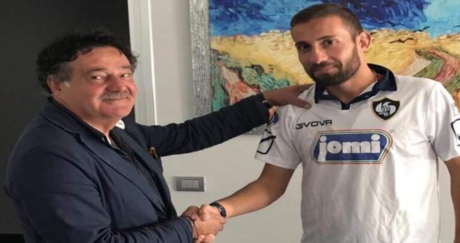 Cavese, torna il centrocampista Favasuli