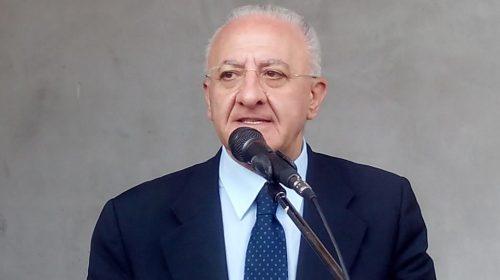 """Sanità, Vincenzo De Luca: """"Chiederemo l'assunzione di altre 4.000 unità"""""""