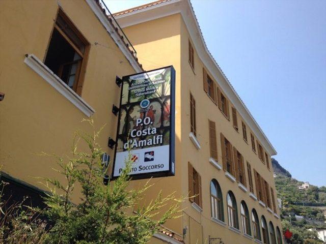 Chiuso e poi riaperto il presidio Costa d'Amalfi per un presunto caso di Covid-19