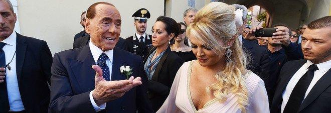 Berlusconi a Ravello per le nozze della Pascale