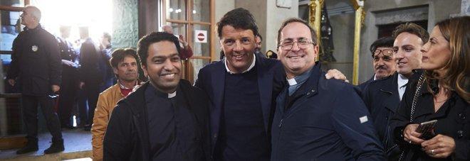 Paestum, il comizio di Renzi in chiesa è un caso: l'ira del vescovo