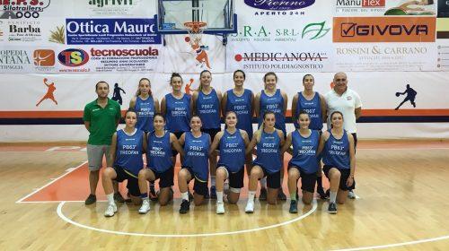 """Basket donne. Ruggi all'esame esordio. Coach Pignata """"Gruppo nuovo, ma molto affiatato"""""""