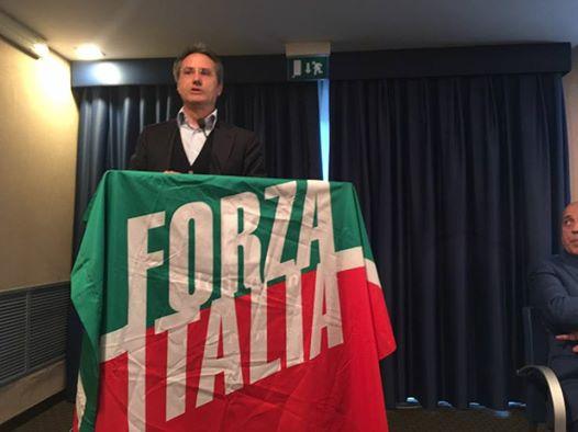 """Caldoro domani in tour a Scafati e nell'Agro, Paolino (Forza Italia): """"Orgogliosi di accoglierlo"""""""