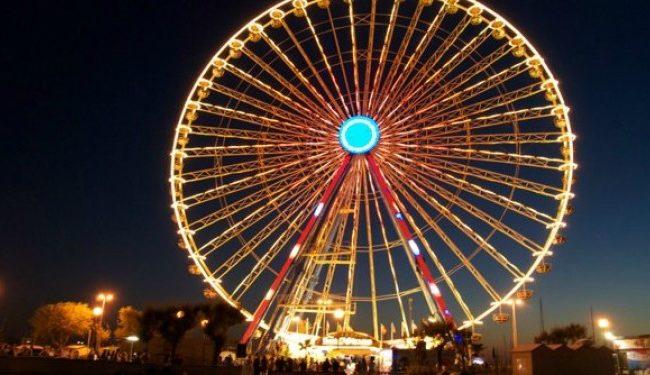 A Salerno la Ruota panoramica più «grande del mondo»