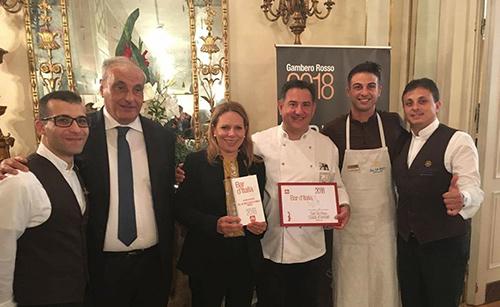 Sal De Riso è Bar d'Italia 2018 del Gambero Rosso