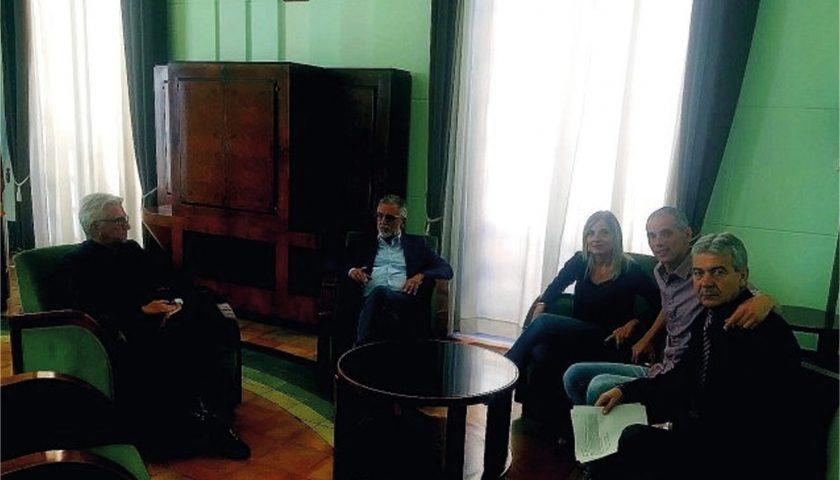 Restyling urbano, trasporto e politiche giovanili, i temi dell'incontro al Palazzo di Città