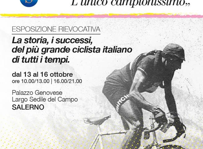 Domani si presenta la mostra dedicata a Fausto Coppi