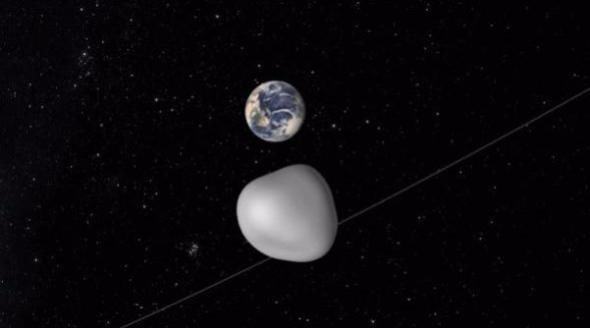 Asteroide 2012 TC4 sfiora la Terra
