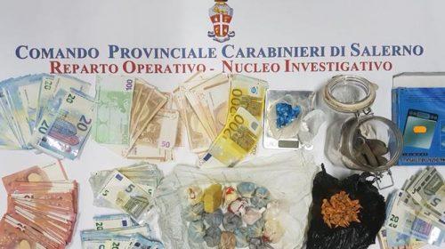 Spaccio di droga, due arresti nella zona orientale di Salerno