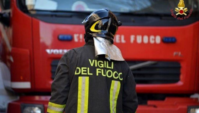 Montecorvino Pugliano: Negozio in fiamme, avrebbe aperto tra qualche giorno