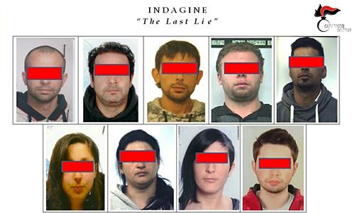"""Indagine """"The Last Lie"""", 9 arresti per stupefacenti nel Vallo di Diano"""