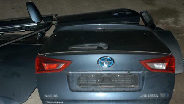 Trovato deposito di auto rubate a Pagani, i ladri sono stati traditi da segnale Gps