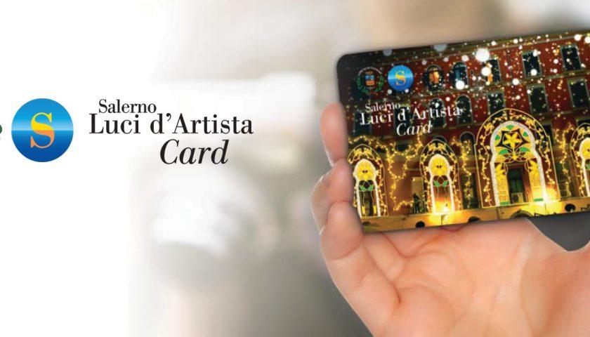 Luci d'Artista card, un servizio gestito dal Comune