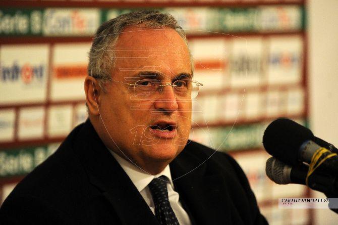 """Lotito replica a De Luca: """"Dice che Salerno merita rispetto? Ognuno facesse il proprio mestiere"""""""