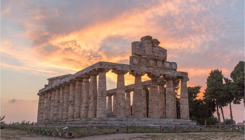 Fundraising al Parco Archeologico di Paestum: cresce il circolo di Athena