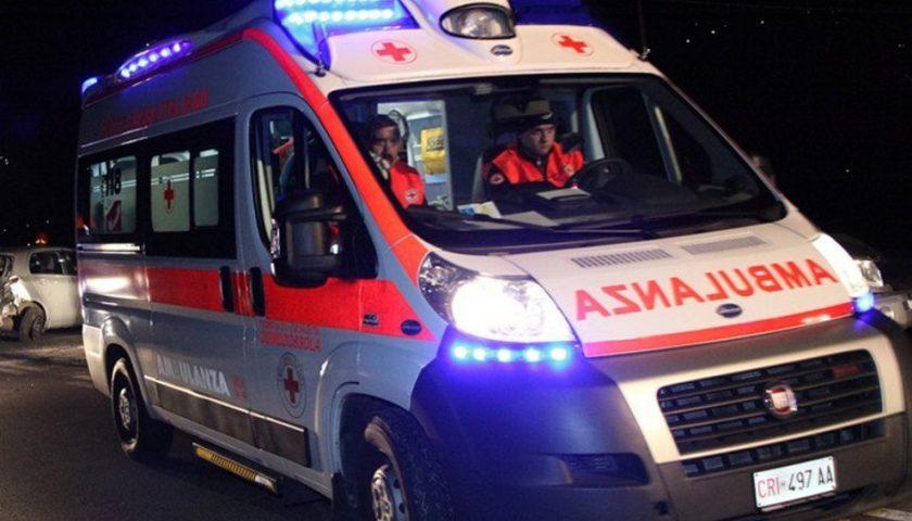 Pollica: 58enne in prognosi riservata dopo un incidente frontale