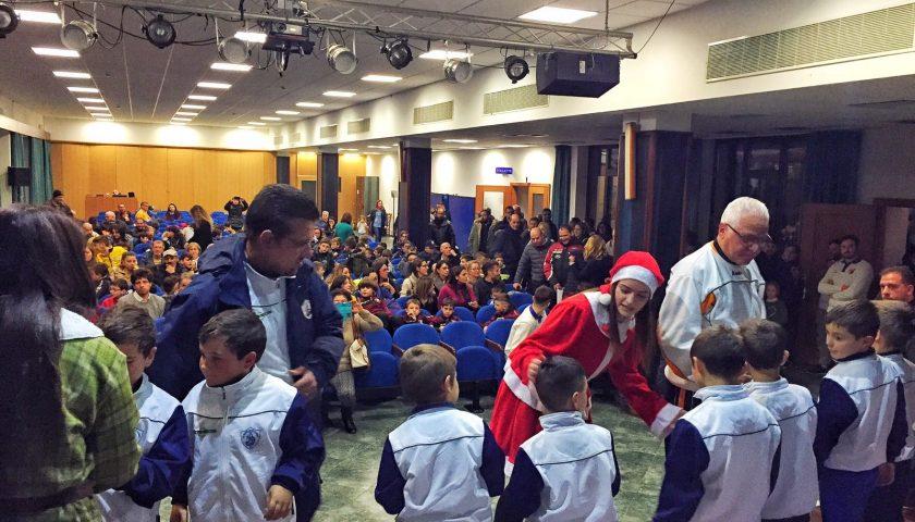 CSI Salerno: pienone al brindisi natalizio con tutte le società affiliate