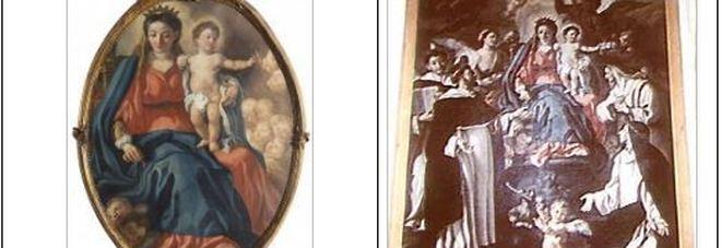 Tramonti, sarà restituito il dipinto della Madonna del Rosario trafugato dalla chiesa di San Michele