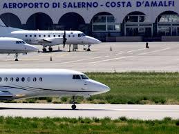 Dalla Regione 2,8 milioni per l'aeroporto Costa d'Amalfi