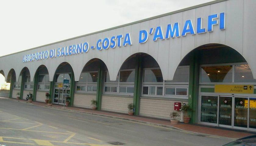 Aeroporto Salerno-Costa d'Amalfi: ok al progetto definitivo