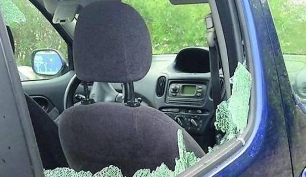 Raid vandalici contro le auto: chiesti 4 anni per i responsabili