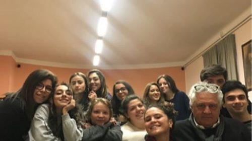 I talenti del Liceo Sabatini Menna di Salerno al laboratorio di impresa