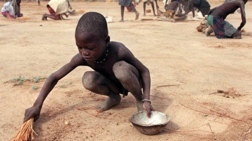 Aumenta la fame nel mondo, 124 milioni le persone a rischio
