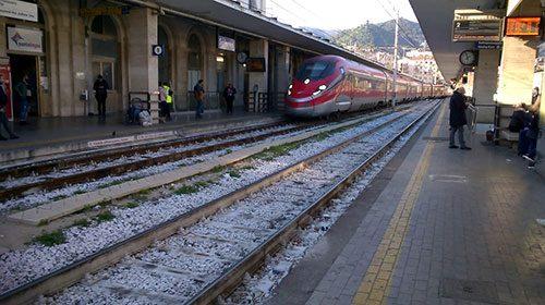 Stazione di Salerno, terminati i lavori al binario 1