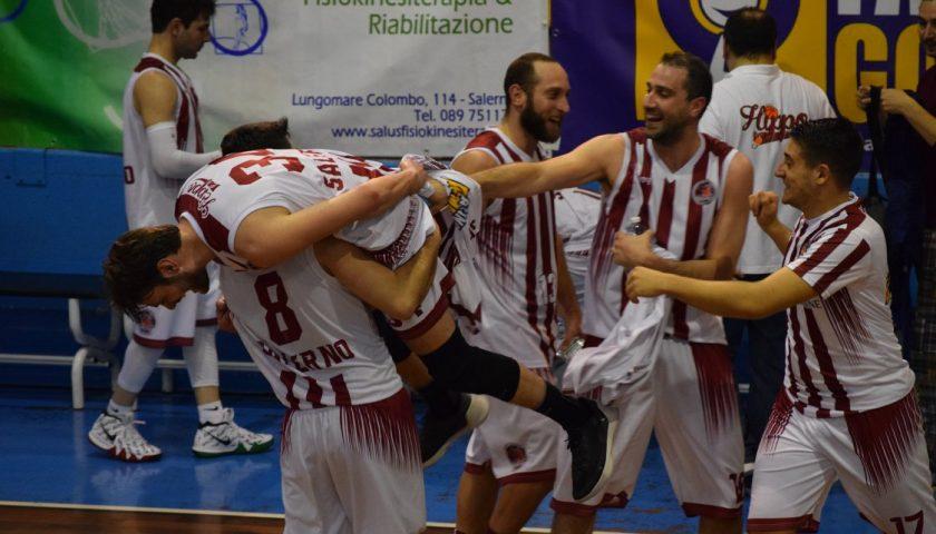 La Hippo Basket Salerno vince il derby con la Pallacanestro Salerno e resta in corsa per i play off