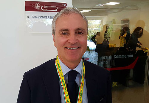 L'imprenditore ebolitano Vito Busillo è il nuovo presidente di Coldiretti Salerno