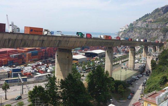 Salerno, chiude il viadotto Gatto per le prove di carico
