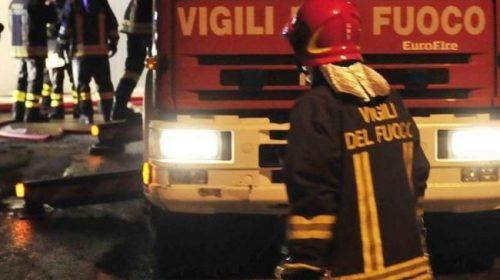 Vasto incendio tra Furore e Conca dei Marini