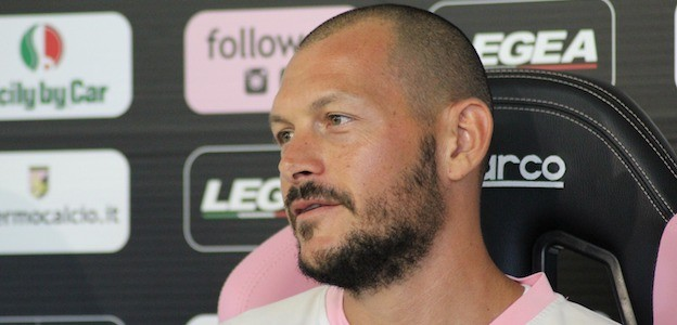 """Il portiere del Palermo Pomini carica l'ambiente: """"All'Arechi per vincere"""""""