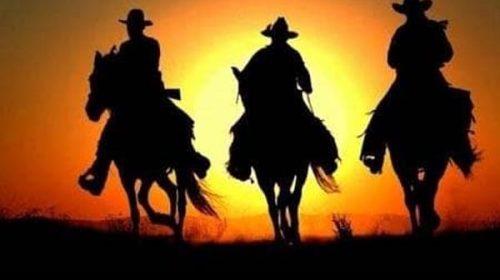 Cowboy sotto le stelle all'Oasi del fiume Alento