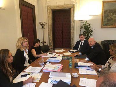 De Luca incontra il Ministro del Sud Lezzi