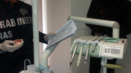 Blitz dei Nas, chiuso uno studio dentistico
