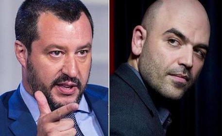 Salvini querela Saviano per post su Facebook