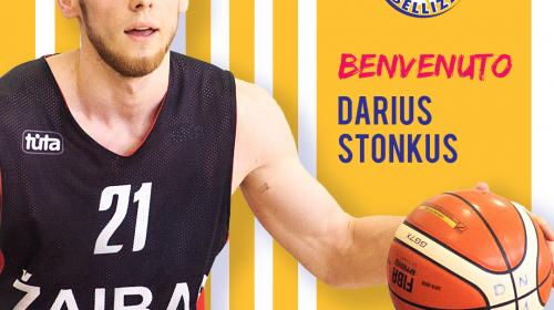 Il Basket Bellizzi ingaggia il lituano Darius Stonkus