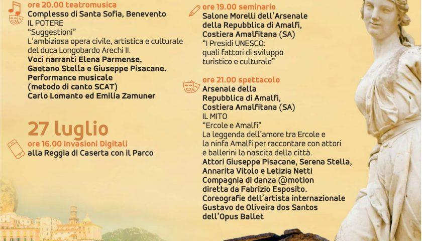 """Tappa salernitana del """"Progetto Rete Siti UNESCO"""""""