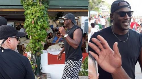 Vacanze in Costiera per Michael Jordan: leggenda Nba a cena a Positano