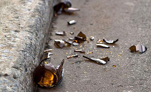 Sarno: lite tra stranieri a colpi di bottiglia