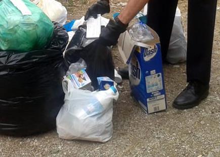 Operazione delle Guardie Ambientali contro i furbetti del sacchetto selvaggio, raffica di multe a Colliano