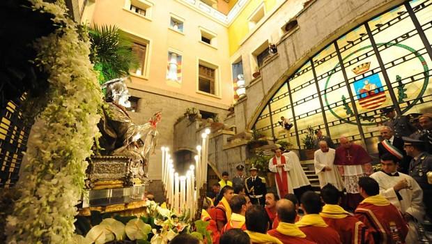 San Matteo, il 18 settembre la statua varcherà  l'ingresso di Palazzo di Città