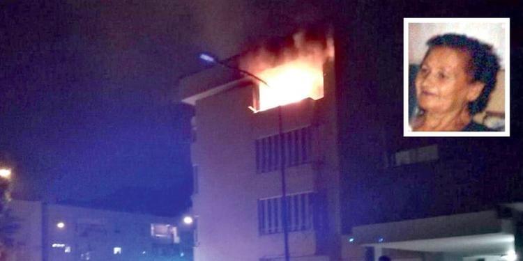 Pagani, morta l'ottantenne ferita nell'incendio della sua casa