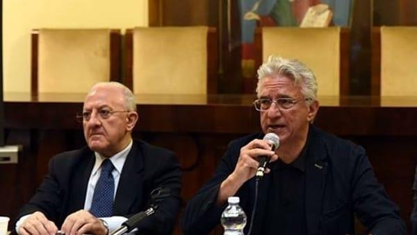 Progetti e opere per Salerno, De Luca e Napoli illustrano le novità