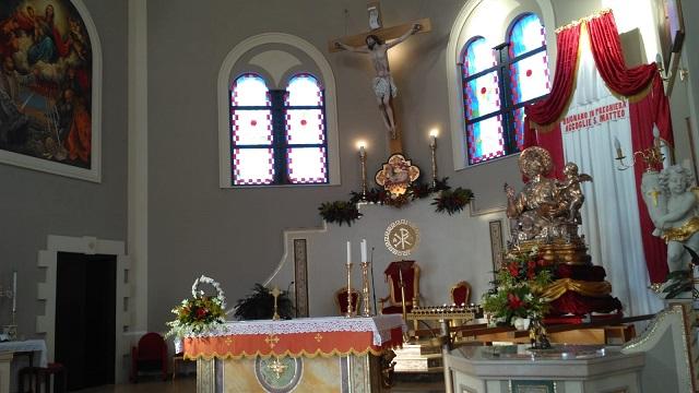 Peregrinatio, San Matteo saluta la comunità di Brignano