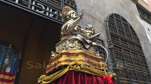 San Matteo, rischio assembramepp p nti: il braccio dell'Evangelista non andrà a far visita in ospedale a Salerno