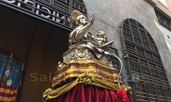 San Matteo, al Duomo di Salerno processione virtuale e 4 Sante Messe
