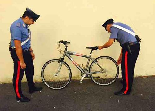 Il sindaco fa arrestare ladro di bici: è un 20enne di Eboli